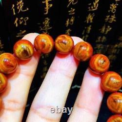 10.5mm Rare Genuine Natural Red Auralite Sky Eye Crystal Beads Rare Bracelet AAA