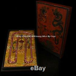 14mm Rare China Opals Stone Necklace 108 Beads Bracelet Bangle Necklace