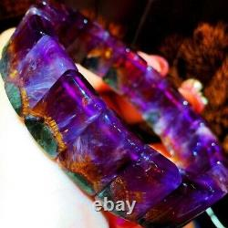 1510.46mm Genuine Natural Auralite Crystal Beads Rare Bracelet AAAA