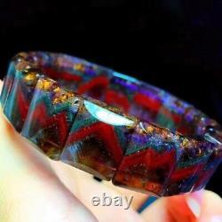 1612.76mm Genuine Natural Auralite Crystal Beads Rare Bracelet AAAA
