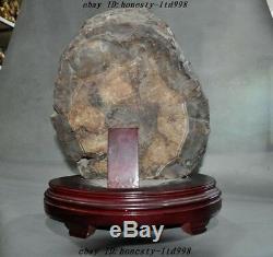 16Rare Tibet 100% Natural Agate Stone Carved Pray Eyes dZi beads Tianzhu Statue
