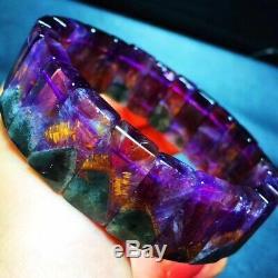 18.295.5mm Genuine Natural Auralite Crystal Beads Rare Bracelet AAAA