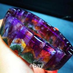 19.210.56mm Genuine Natural Auralite Crystal Beads Rare Bracelet AAAA