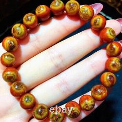 9mm Red Genuine Natural Starlight Auralite Crystal Beads Rare Bracelet AAAA