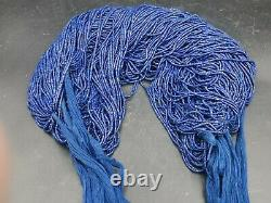 Afghanistan panjshir Valley rare natural authentic lapiz 350 small beads string