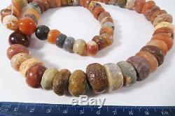 Alte rare Steinperlen AC99 Sahara Sahel Strand Antique Stone Beads Afrozip