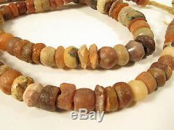 Alte rare Steinperlen D Sahara Sahel Strand Antique Stone Beads Afrozip