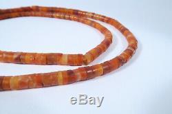 Alte rare Steinperlen Karneol AN06 Bankam Antique Carnelian Stone Beads Afrozip