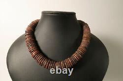 Alte seltene Steinperlen Scheiben DI71 Ancient rare Stone Disk Beads Sahel