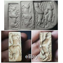 Amyzing Mohenjo daro rare stone cylinderseal bead