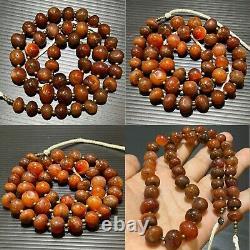 Ancient Antique Rare Roman Old Carnelian Agate Stone Beads Beautiful