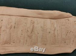 Ancient Rare jusper King momorable inscriptions cylinderseal bead