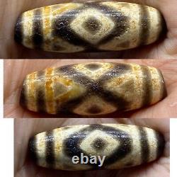 Ancient Tibetan Eye dZi Bead rare eye pattern circa 2nd century AD