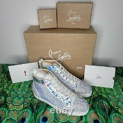Christian Louboutin Sonny No Limit Size 43.5 10.5 US Red Bottoms Super Rare