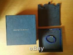 David Yurman Spiritual Bead Collection Lapis Necklace & Bracelet RARE