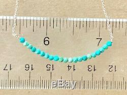Extremely rare sleeping beauty turquoise bracelet hand wire wrap elegant 8 18k