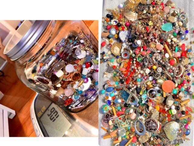 Jewelry Lot! Wear! 10+pounds/lbs! Vintage To Now. Beautiful Pieces! Rare