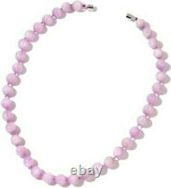 Kunzite Beaded Necklace Size 20. Rare