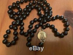 Mizuki 14K Diamond Pendant Black Onyx Long Beaded Necklace 40 Barneys $4K RARE