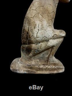 Mouse Bead Amulet Sculpture Egyptian Antiques Rat Figurine Very Rare Roman Era