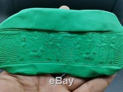 Near Eastern sasanian amyzing rare historical scene rare lapiz cylinderseal bead