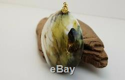 Pendant Stone Amber Natural Baltic White Vintage 37,2g Rare Sea Special A-443