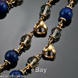 RARE! GORGEOUS Di MODOLO TRIADRA MULTI-STONE DIAMOND NECKLACE 18K YELLOW GOLD