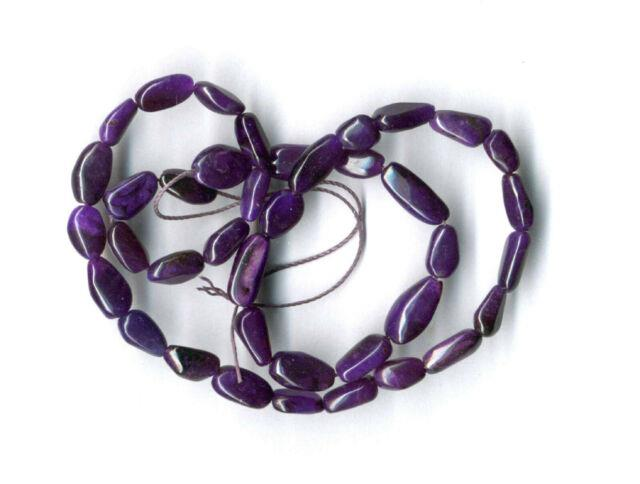 Rare One-of-a-kind Sugilite Gel Sugilite Small Potato Beads-16 Strand 1921c