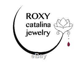 RARE Turquoise Gemstone Necklace strand layer stack Sleeping Beauty Bead 18 14k