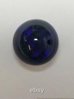 Rare 5.52ct GIA Natural Black Opal Bead For Necklace No Treatment 10mm