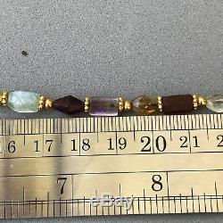 Rare Ancient Pyu Amethyst, Crystal, Garnet, Quartz, Citrine, Stone Beads #485