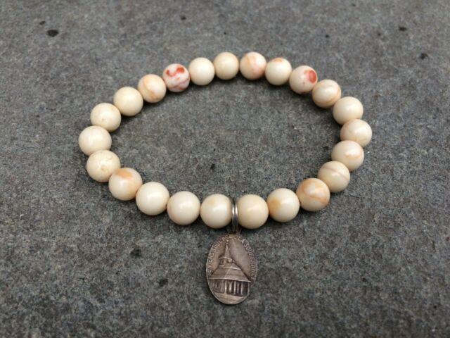 Rare Nwt Miracle Icons Vintage-icon Stone Beaded Bracelet