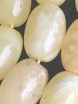 Rare ONE STONE Natural Baltic Amber Prayer Beads