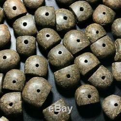 SALE 50 pcs! Ancient Sassanian Medival Rare Old Jasper Stone Intaglio Seal Beads