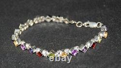 SILPADA B0948 Sterling Silver & Semi-Precious Stone Bracelet RARE