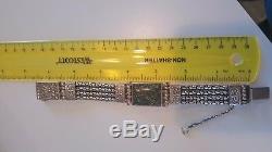 SILPADA RARE GORGEOUS bali inspired HEAVY sterling bracelet