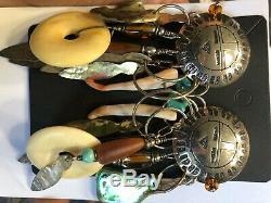 Tabra jewelry sterling silver precious stone, vintage rare