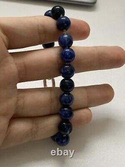Tiffany & Co. Navy Blue Ball Bracelet (rare Item)