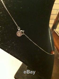 Tiffany & Co Rare Carnelian Floating Ball Bead Necklace