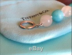 Tiffany & Co. Rare Paloma Picasso Bead Gemstone Sterling Silver Bracelet