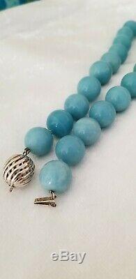 Tiffany & Company Amazonite Necklace RARE