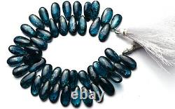 Very Rare Gem Natural Imperial Kyanite 15x7MM Approx. Pear Shape Briolette Beads