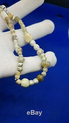 Very rare stone beads Roman Chernyakhovskaya cult. II-IV centuries 19