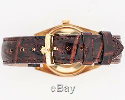 Vintage RARE 1963 Rolex 18k Datejust Ref. 1601 from Estate! Excellent Condition